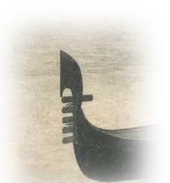 Gondola con ferro da cinque sestieri