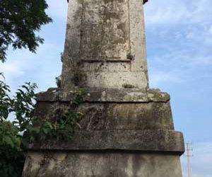 Cippo di confine sull'Isonzo?
