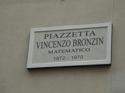 Bronzin, il genio matematico sconosciuto