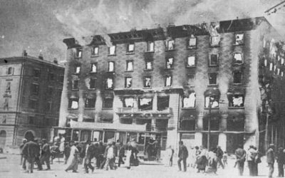 Gillo Dorfles: testimone oculare dell'incendio del Narodni Dom.